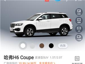 2016款蓝标哈弗H6酷派