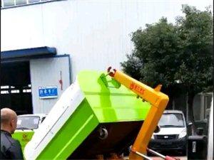 勾臂垃圾車,拉臂垃圾車,環衛垃圾車