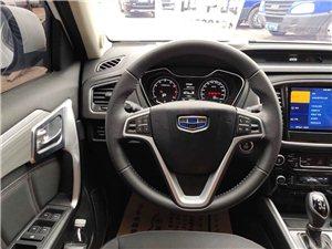 吉利遠景X6   1.3T自動天窗  五個月的新車