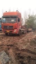东风天龙挖机运输车