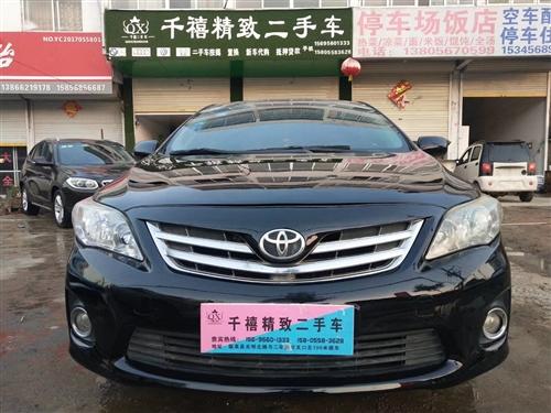 丰田卡罗拉2012款 排量1.6