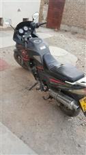 150磨砂黑跑车一辆出售或置换踏板摩托电动车都可以