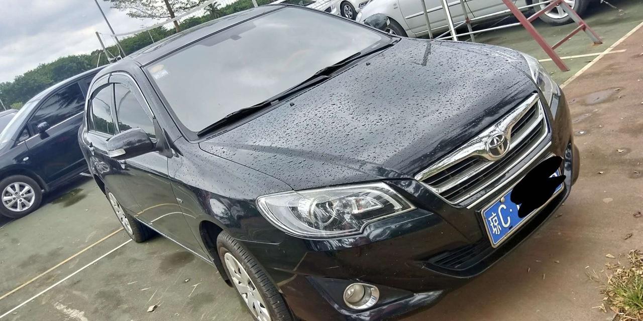 丰田花冠2013款1.6L