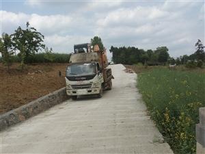 拖板车拖挖掘机用