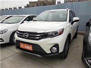 新车广汽传祺GS3,首付1.1万提车