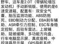 出售精品江淮S5野越车