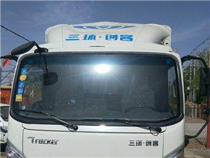 18款东风三环创客4.2米蓝牌车