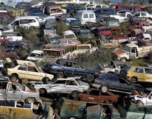 高价回收保底汽车报废设备