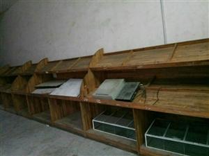 便宜处理精品实木货架,促销货架