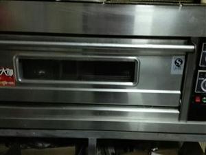 九五成新!一层两盘泓锋牌烤箱