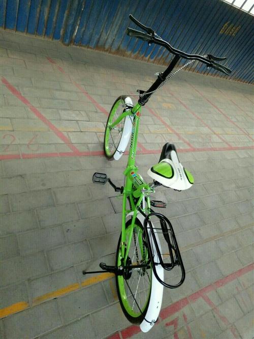 急售折叠自行车,价格可商量