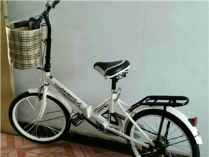 出售一辆折叠减震自行车