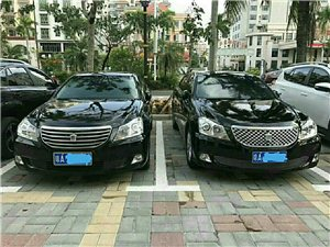 两辆丰田皇冠高配对外出租婚庆用车接送机旅游包车