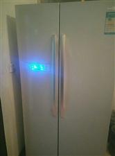 美的大容量指纹智能多模式冰箱急转