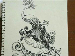 喜鑫阁~儿童画、素描、?#26159;Α?#33899;芦烙画艺术培训