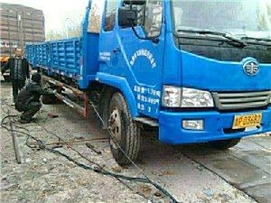 出售二手货车,赛龙6.8米平板