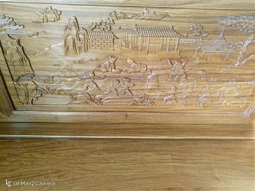 紅木家具羅漢床1.2寬,含炕幾,踏幾