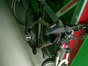 高配变速自行车,27速禧玛诺变速器、油压...