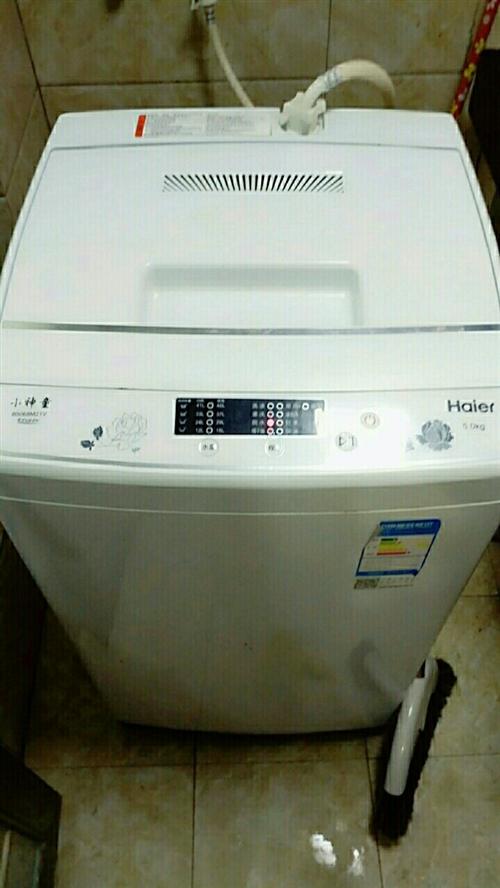 全自动,洗衣机,才买两个月,因去外地,着...