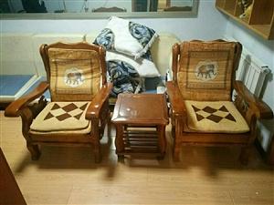 实木沙发一套