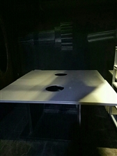 火锅桌,凳子,排风,都是九成新的