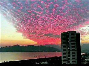 珠海的天空美呆了!!!