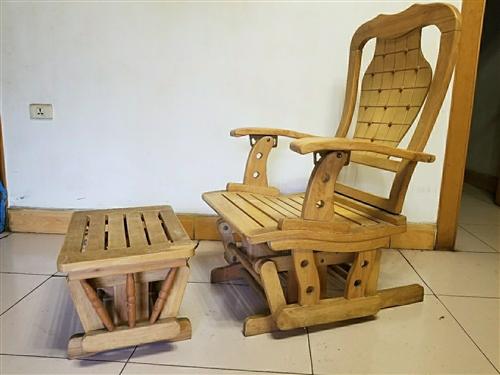 木摇椅一把