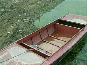 4.2米x1.6米新铁船,船桨齐全,价格...
