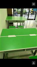 家政新买桌子15套,双人桌带两个凳子,现...