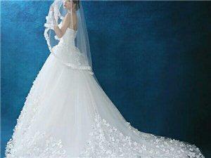 此款婚纱,只穿过一次,可租可卖,微信jx...