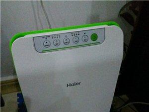 海尔空气净化器,9.9成新