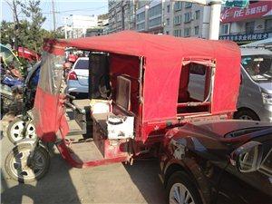 出售电动三轮车一辆,72伏1100瓦大马...