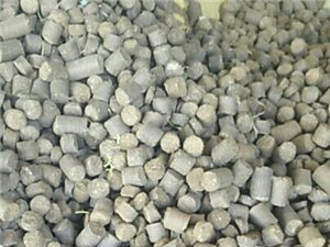 花生壳压缩块代替煤炭环保燃料