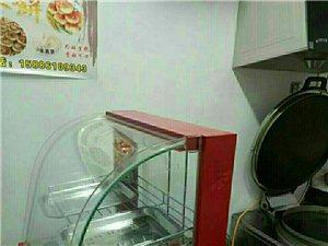 商用电饼铛,和面机,小保温展示柜,两个柜...