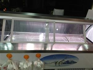 本人低价转让一台2米展示柜,两台冰柜全新...