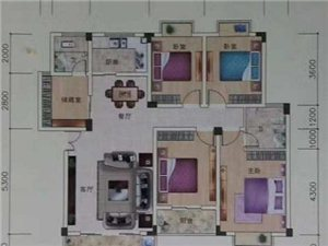 嘉福园小区5室2厅只要4500元/平