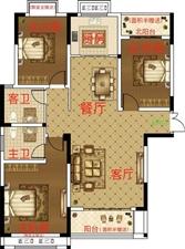 金桂园3室2厅2卫50万元