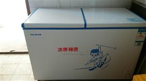 美菱318升双温室大冰柜,7月初购买。东西全新无任问题,还在保期内。两天一度半电