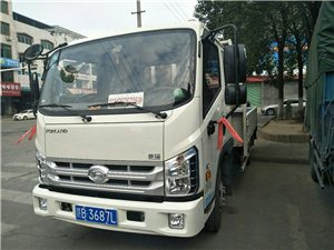 平板货车装钻机,设备等各种机械装卸方便