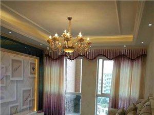 紫晶悦城三室精装房,业主新装未入住过,
