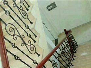 中高档楼梯扶手安装,实木,铁艺,玻璃
