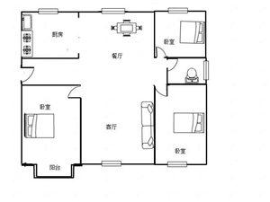 金山新苑3室75万一手合同可贷款