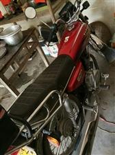 出售一辆CG125男装摩托,九成新。才跑3700公里.因已买小车才忍痛转让!手续齐全,必须过户!