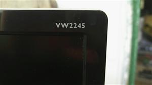 明基21.5寸LED液晶显示器,不闪屏防蓝光mva广角屏,成色极好,可以说有9.5新,当然完美屏,包...