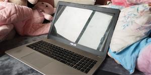 出售本人工作用笔记本电脑,2014年购置,华硕N56高配版影音游戏本,cpu:i7-3610,显卡G...