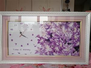浪漫紫百合十字绣已装裱,规格110cm*60cm,由于家中地方有限,现成本价出售,有意者请联系。