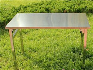 有没有卖这种不锈钢桌子的,不需要折叠的