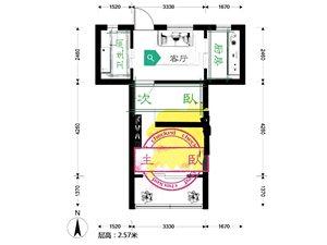华浜新村2室1厅1卫205万元