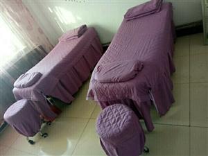 美容床买时裸床350元,现在9.5成新,用了4个月,现在300元出卖,带凳子和床上四件套,美容车50...
