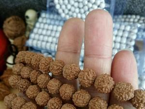 红皮小金刚,108颗+6颗备籽,没上过手,尺寸10mm